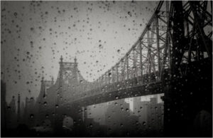 59th Street Bridge, Metallic Print by Virginia Rutter (February 2016)