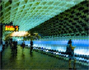 Underground, Digital Art by Addison Likins, 12in x 18in, $225 (Dec. 2019 - Jan. 2020)
