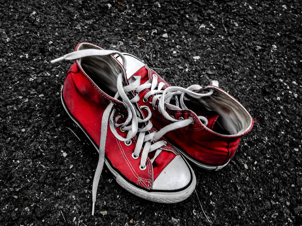 Red Converse by Kathy Noel (MG: February 2020)