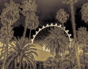 Las Vegas Ferris Wheel, Photograph by R. Taylor Cullar, 11in x 14in, $100 (February 2020)
