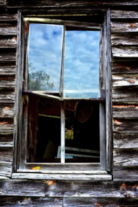 Old Barn Window, Photography by Lee Cochrane, 12in x 8in, $100 (February 2020)