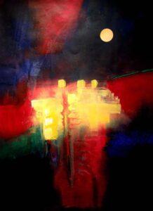 ResonanceII, Mixed Media by Barbara Taylor Hall (February 2014)