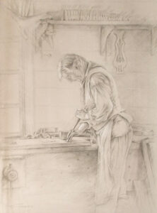 The Craftsman, Graphite by Beverly Toves (September 2014)