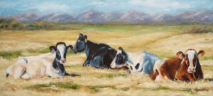 Waiting for Spring, Oil Painting by Beverly Toves (October 2014)