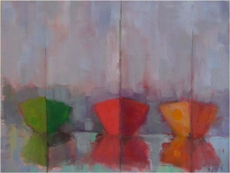 HONORABLE MENTION: Beyond, Oil by Carol Josefiak (February 2014)