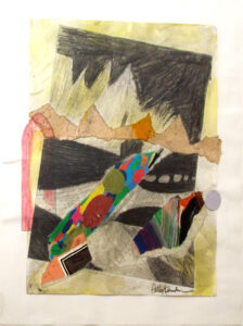 Under Construction No 1, Mixed Media by Cathy Herndon (May 2014)