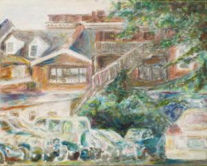 Good Neighbors, Oil on Canvas by Elizabeth Shumate (February 2014)