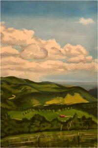 German Valley, Acrylic by Janice Harvey (June 2014)