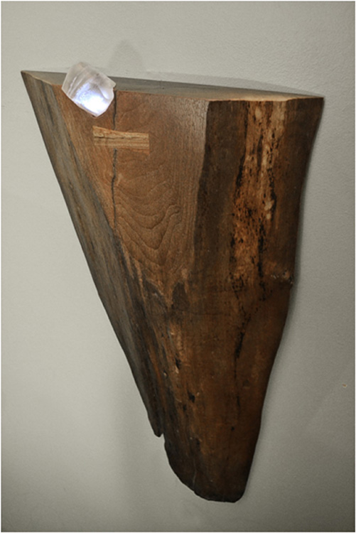 FIRST PLACE: Minerals and Materials No 4, Wood Epoxresin Light by Josh Rodenberg (May 2014)