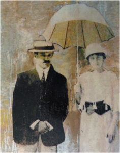 The Couple, Photo Transfer by Karen Julien (September 2014)