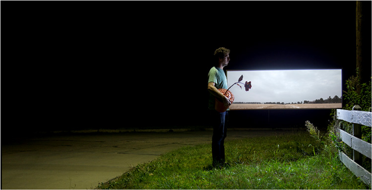 THIRD PLACE: In Other Fields KS No 1, backlit Digital Print by Kyle Triplett (May 2014)