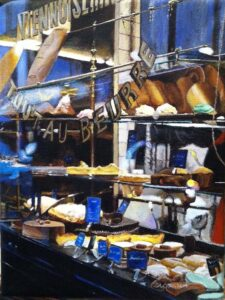 Patisserie, Acrylic on Canvas by Laura Craig (June 2014)