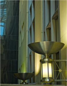 Atrium Lights, Photograph by Lee Cochrane (March 2014)