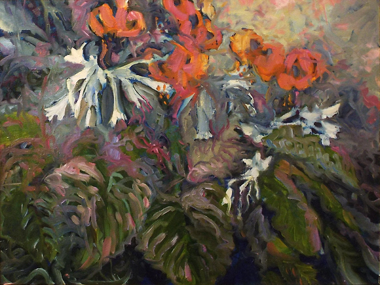 HONORABLE MENTION: Mid Summer Evening, Oil Painting by Marcia Chaves (October 2014)