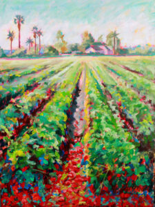 Sun-ripened Sweetness, Oil on Canvas by Marie Massey (November 2014)