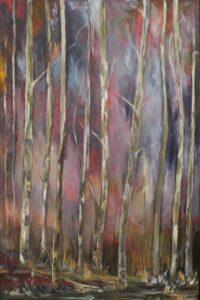 Awakening, Oil by Nita Adams (March 2014)