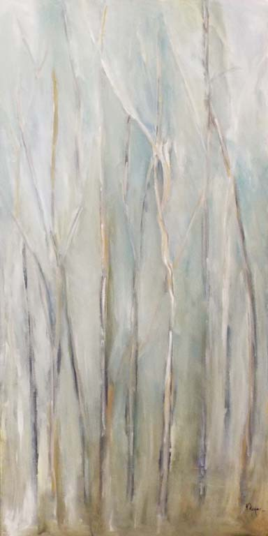 HONORABLE MENTION: Whispers, Oil Painting by Nita Adams (June 2014)
