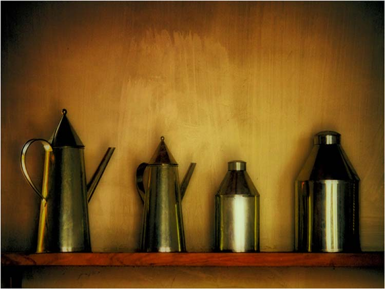 HONORABLE MENTION: On the Shelf, Photograph by Norma Woodward (February 2014)