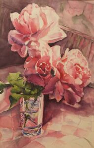 50 Shades of Pink, Watercolor by Penny Hicks (July 2014)