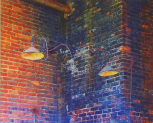 Old Warehouse Lights, Photograph by Penny Parrish (February 2014)
