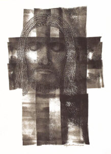 Faceona Cross, Ink on Clayboard by Phyllis Graudszus (April 2014)