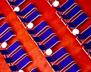 Resort Chairs, Digital Photo on Metallic Photo Paper by Taylor Cullar (November 2014)