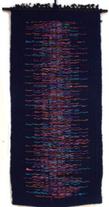 Dusk, Fiber Art by Rita Brown (May 2014)