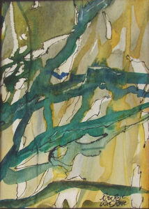 Branching Out, Watercolor by Rita Rose and Rae Rose (December 2014/January 2015)