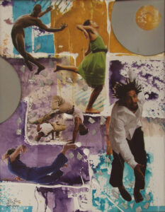 Flying High, Collage by Rita Rose and Rae Rose (September 2014)