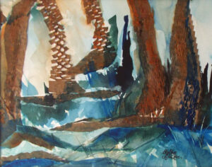 Whimsical Woodland, Mixed Media by Rita Rose and Rae Rose (February 2014)