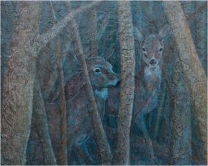 In The Shadows, Acrylic Layers by Robyn Ryan (February 2014)