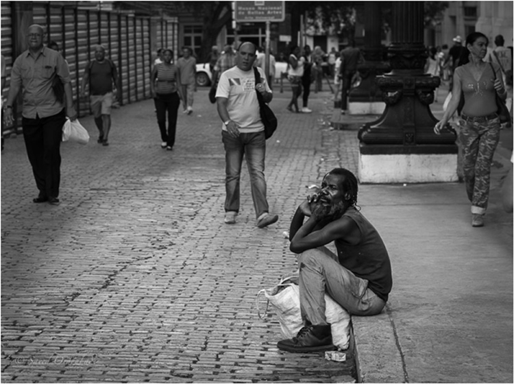 HONORABLE MENTION: Alone in the Crowd, Photography by Saeed Ordoubadi (April 2014)