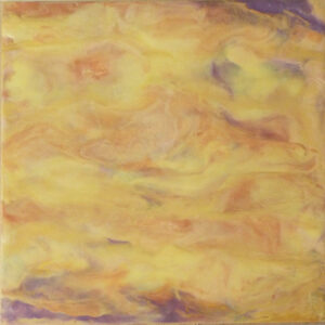 Sandstorm, Encaustic by Sally Rhone (April 2014)