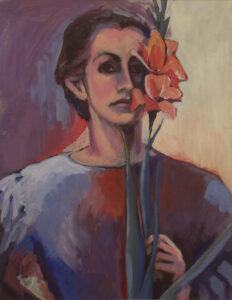 Strength is a Fragile Thing, Acrylic Painting by Sally Rhone-Kubarek (November 2014)