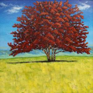 Summer Lights, Acrylic Painting by Stephanie Bowman (November 2014)