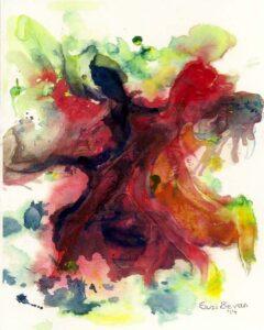 Dance for Joy, Acrylic by Suzi Bevan (July 2014)