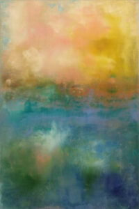 Tranquility, Acrylic on Canvas by Tarver Harris (February 2014)
