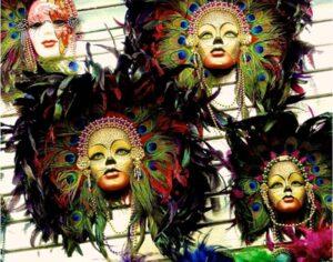Mardi Gras Masks, Photograph by Taylor Cullar (July 2014)