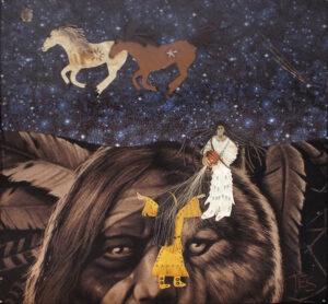 The Awakening, Mixed Media by Terri Smith (February 2014)