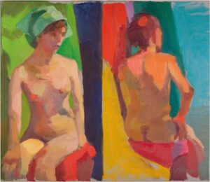 Bare Colors, Oil Painting by Tricia Kaman (July 2014)