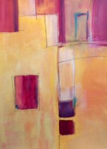 Transition, Mixed Media by Barbara Taylor Hall  (May 2016)