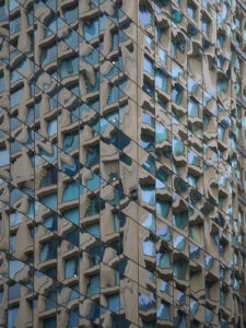 Blue Glass Abstract, Metallic Photograph by Deborah Herndon, $185 (Aug. 2020-Jan. 2021 CBTC)