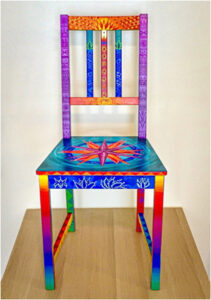 Her Majesty's Throne, Mixed Media by Lori Evensen, 35in x 26in x 16in, $640 (August 2020)