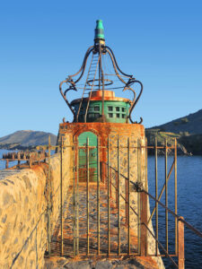 Ocean-Beacon, Collioure, Metallic Photograph by Deborah Herndon, $285 (Aug. 2020-Jan. 2021 CBTC)