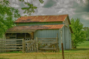 Painterly Barn, HDR Photography by Dawn Whitmore, $265 (Aug. 2020-Jan. 2021 CBTC)