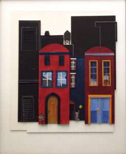 Dead End, Mixed Media by Katharine K. Owens, 33in x 27in, $695 (September 2020)