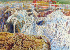 Freckles, Watercolor by Kit Paulsen, 15in x 21in, $850 (September 2020)