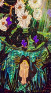Inspired, Digital Art by Dorian Hamilton, 18in x 10in, $75 (September 2020)