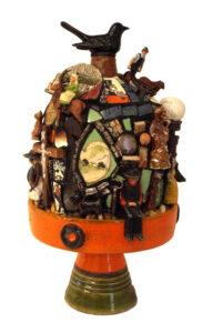 Work, Mosaic by Joan Powell, 18in x 8in, $400 (September 2020)