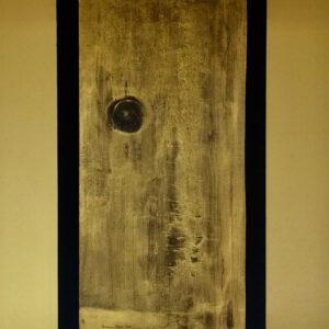 Dark Moon, Acrylic by Barbara Taylor Hall, 21in x 21in, $500 (November 2020)